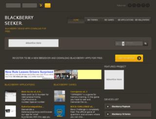 blackberryseeker.com screenshot