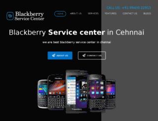 blackberryservicecentreinchennai.in screenshot