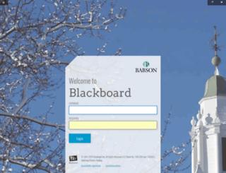 Blackboard Learn - Babson College