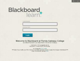 blackboard.fgc.edu screenshot