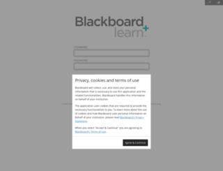 blackboard.indstate.edu screenshot