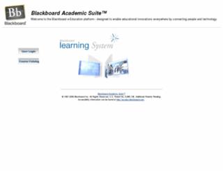 blackboard.iusd.org screenshot