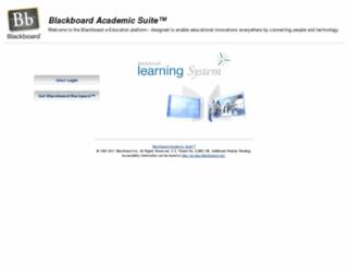 blackboard.mcphs.edu screenshot