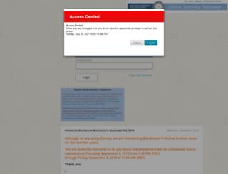blackboard.sdccd.edu screenshot