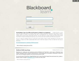 blackboard.trcc.edu screenshot