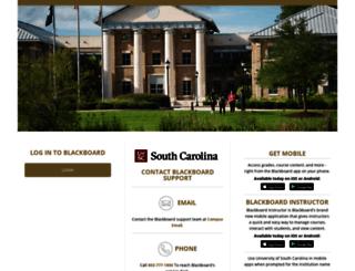 blackboard.uscb.edu screenshot