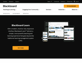 blackboardlearn.com screenshot