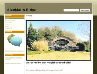blackburnridge.org screenshot