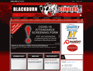 blackburnstingers.com screenshot