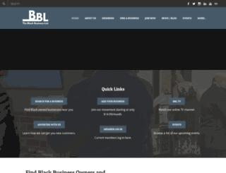 blackbusinesslist.com screenshot