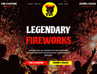 blackcatfireworks.com screenshot
