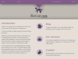 blackcatswalk.com screenshot