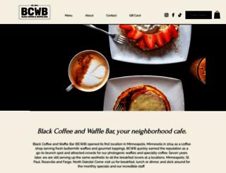 blackcoffeeandwaffle.com screenshot