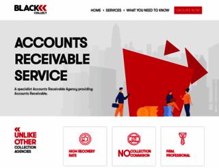 blackcollect.com.au screenshot