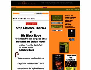 blackcommentator.com screenshot