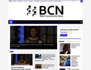 blackcommunitynews.com screenshot