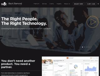 blackdiamond.advent.com screenshot