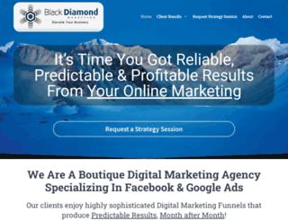 blackdiamondmarketing.ca screenshot