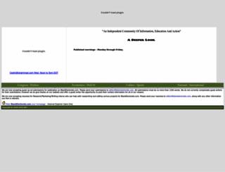 blackelectorate.com screenshot