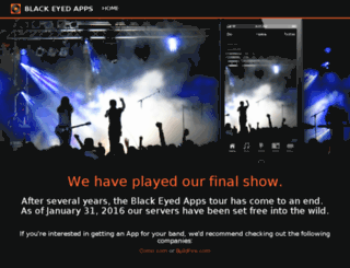 blackeyedapps.com screenshot