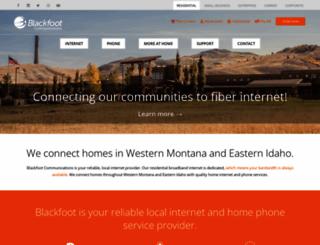 blackfoot.com screenshot