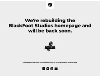 blackfootstudios.com screenshot