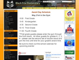 blackfox-es.bradleyschools.org screenshot