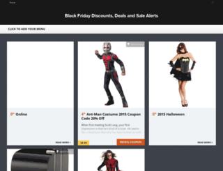 blackfridaysalealerts.com screenshot