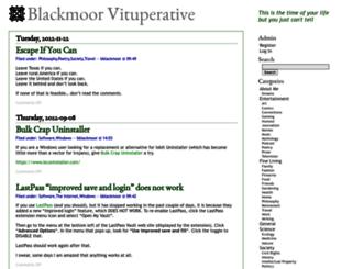 blackgate.net screenshot