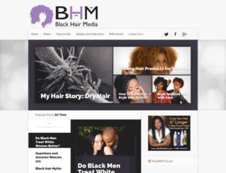blackhairmedia.com screenshot