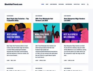 blackhairtrend.com screenshot