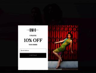 blackhalo.com screenshot