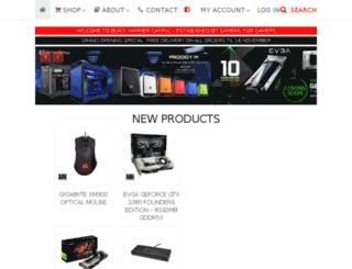 blackhammer.co.za screenshot