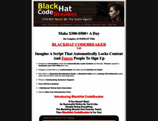 blackhatcodebreaker.com screenshot