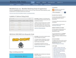 blackhattoolz.com screenshot
