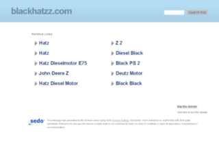 blackhatzz.com screenshot