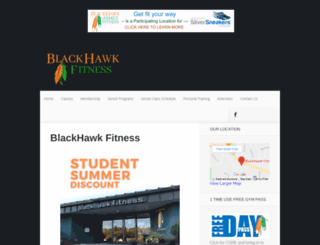 blackhawkfitnessclub.com screenshot