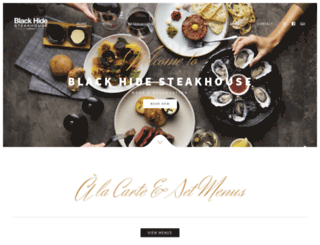 blackhidesteakhouse.com.au screenshot