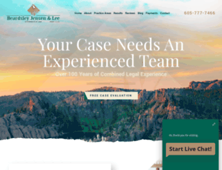 blackhillslaw.com screenshot
