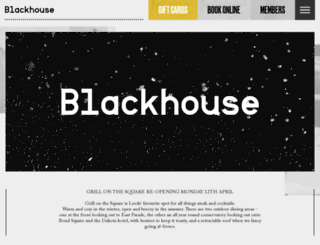 blackhouse.uk.com screenshot