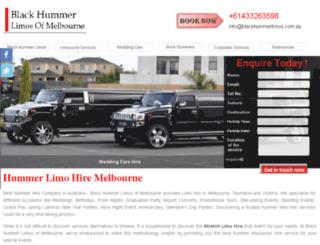 blackhummerlimos.com.au screenshot