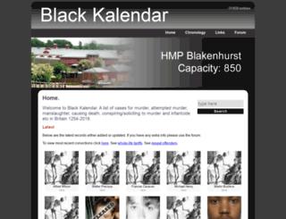 blackkalendar.nl screenshot