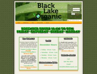 blacklakeorganic.com screenshot