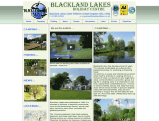 blacklandlakes.co.uk screenshot