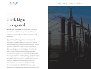 blacklightgroup.co.za screenshot