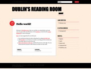 blacklinsreadingroom.wordpress.com screenshot