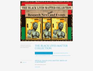 blacklivesmattercollection.wordpress.com screenshot