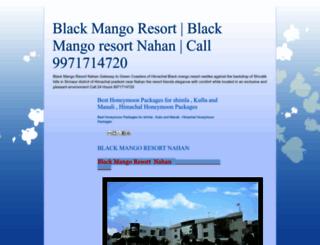 blackmangoresort.blogspot.com screenshot