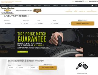 blackmonchevrolet.com screenshot