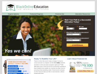 blackonlineeducation.com screenshot